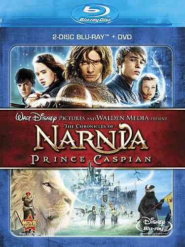 CHRONICLES OF NARNIA:PRINCE CASPIAN BY HENLEY,GEORGIE (Blu-Ray)