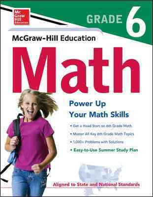 Mcgraw-hill's Math Grade 6 By McGraw-Hill